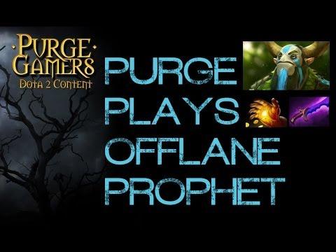Dota 2 Purge plays Offlane Prophet