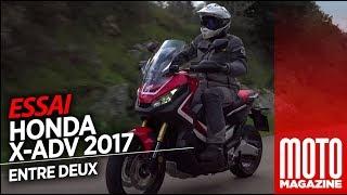Honda X ADV 750 - moto ou scooter (2017) Essai Moto Magazine