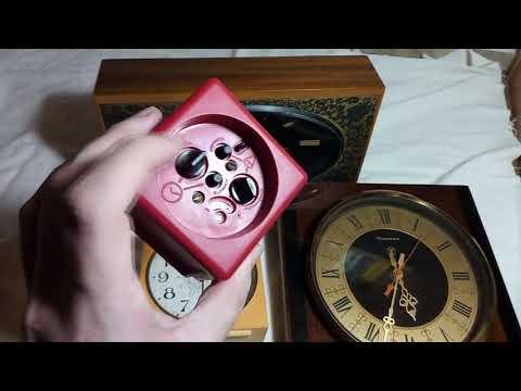 Ретрообзор   Часы СССР 6шт