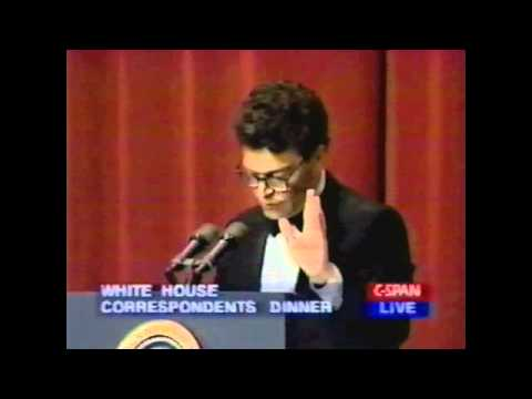 Al Franken At The White House Correspondents Dinner, 1996 pt1