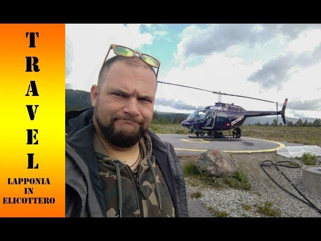 In elicottero nel Sarek...Lapponia Svedese