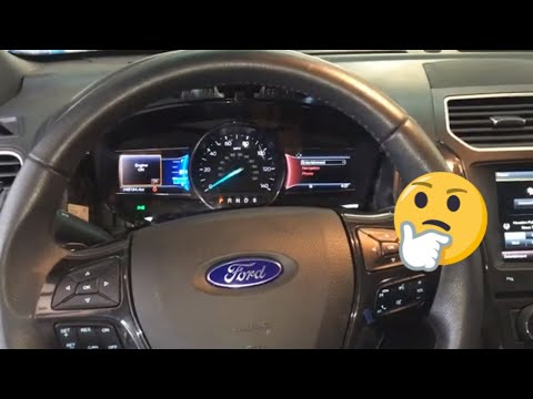 FORD EXPLORER INSTRUMENT CLUSTER NOT WORKING