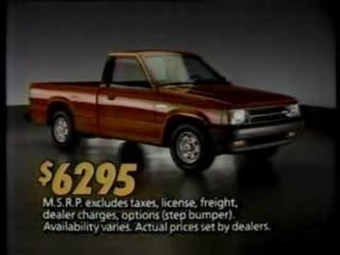 Mazda B2000 (1986) - YouTube