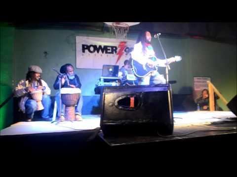 Rivah Performs At Reggae Concert Feb 2 2013