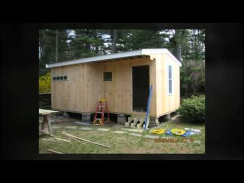 Kingston Pembroke MA custom shed builder