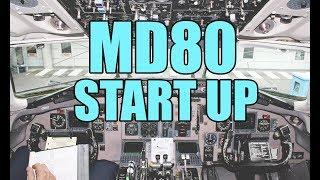 MD80 Startup Procedures | XPLANE 11 [ROTATE]