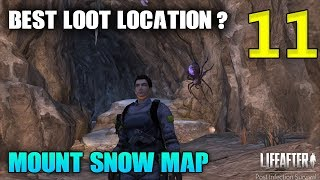LIFEAFTER ENGLISH - MOUNT SNOW MAP - BEST LOOT LOCATION? - #11