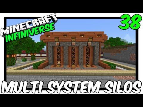 'Multi System Storage Silos' [38] Minecraft Bedrock Infiniverse