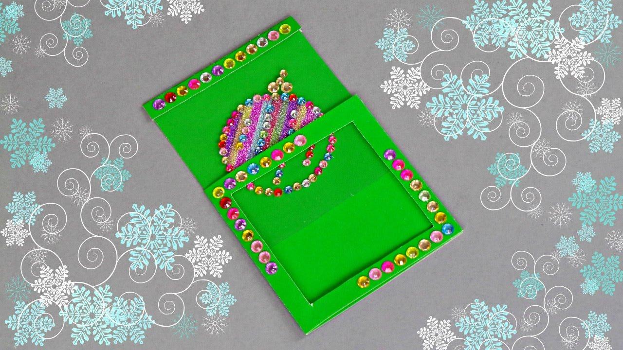 Card Making Magic Ideas Part - 38: DIY CHRISTMAS MAGIC CARD / HANDMADE CHRISTMAS GREETING CARD MAKING IDEA -  YouTube