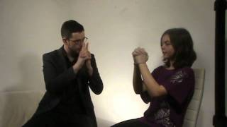 Hypnosis Crash Course - Become a Hypnotist in 2 Hours, Magnetic Finger Induction Demonstration