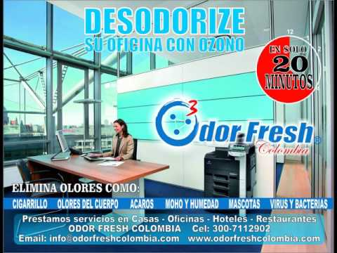 Aplicaciones de Odor Fresh Colombia