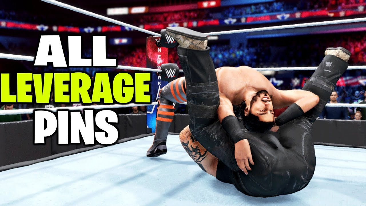 WWE 2K20 All Leverage Pins!