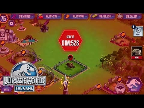 New Code 19 Mini Game Jurassic World Youtube