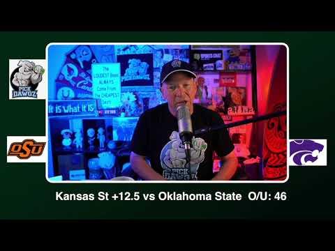 Kansas State vs Oklahoma State Free College Football Picks and Predictions CFB Tips Saturday 11/7/20