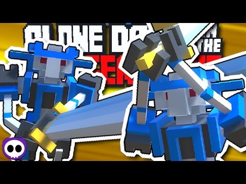 EPIC ROBOT FIGHTING GAME! ✪ Clone Drone In Danger Zone Early Access Gameplay