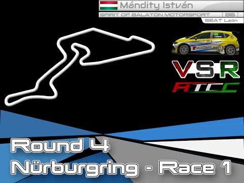 VSR HTCC (2014-2015) - Nürburgring [Race 1] - Cockpit view [virtual head movement]