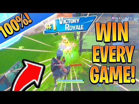 How To WIN 100% of GAMES In Fortnite Season 8! (Battle Royale Tips for Ps4/Xbox Fortnite)