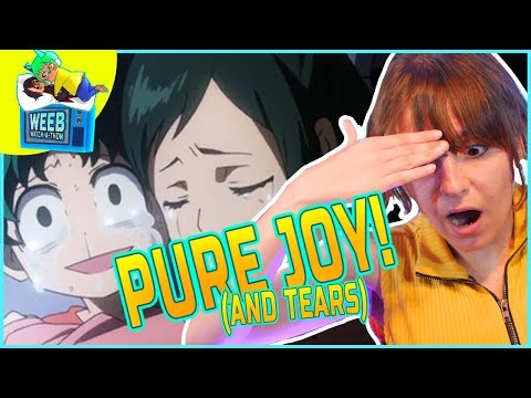 PUNCH ME IN THE FEELS DEKU! | My Hero Academia S1 Ep 1 (Reaction)