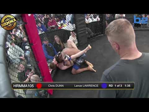 HRMMA 105 Fight 12 Lance Lawrence vs Chris Dunn 145 PRO