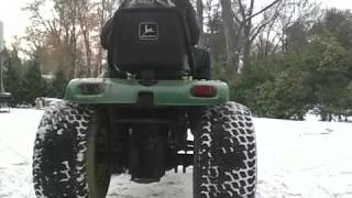 1980 John Deere JD400 Super Garden Tractor