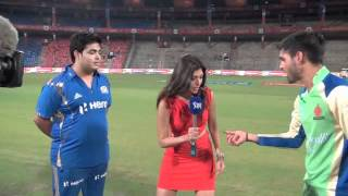 Royal Challengers Bangalore vs Mumbai Indians Owners Match - Funny Toss Incident! thumbnail