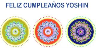 Yoshin   Indian Designs - Happy Birthday
