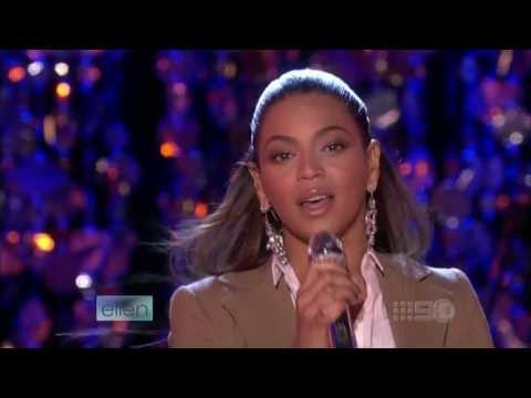Beyoncé - Flaws and All (Live at Ellen) HD