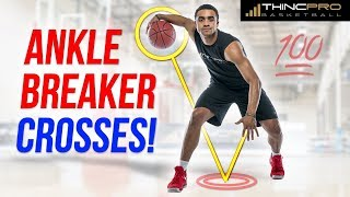 Top 5 ANKLE BREAKER Crossovers to use in Transition!!! (MUST WATCH) World's Best Basketball Moves