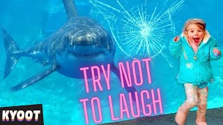 [1 Hour +] TRY NOT TO LAUGH CHALLENGE Funniest Kids at Zoo Videos! 🦄  Kyoot Party with Funny Moments