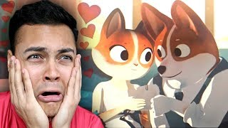 REACTING TO THE CUTEST LOVE ANIMATION (Here's The Plan)