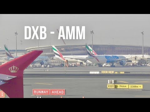Plane Spotting *Dubai - Amman, Jordan*  Royal Jordanian A320 ✈️✈️