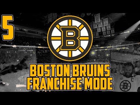 "NHL 17 - Boston Bruins Franchise Mode #5 ""More Problems?"""