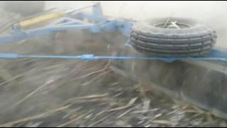 Коток -подрібнювач ріжучий водоналивний гідрофіцирований  КР-6П-01 в роботі