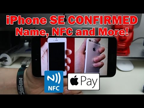 IPhone SE CONFIRMED Leak (Name, NFC And More!)