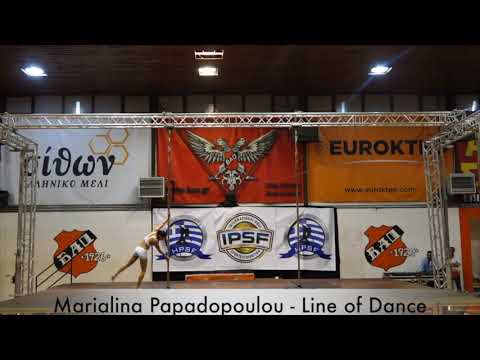 Marialina Papadopoulou - Hellenic Pole Sport Federation