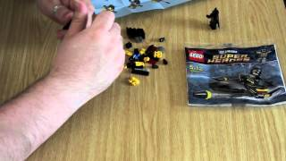 LEGO DCU Super Heroes Review: Set #30160 Batman Jet Ski