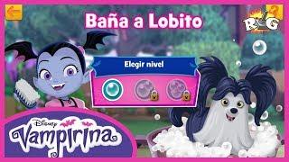 Vampirina | Ordena la Habitación y Baña a Lobito | Disney Junior