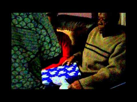 USA African immigrant senior citizens holiday party photo video
