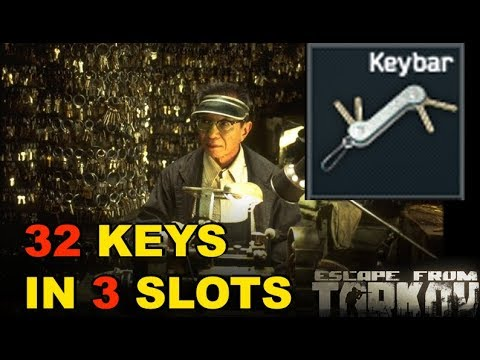 32 Keys in 3 Slots! New Keybar Item! Escape from Tarkov