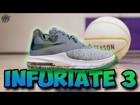 Nike Air Max Infuriate 3 Low Performance Review! Good $80 Shoe?