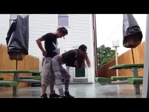 RedNose   Cute Couple Twerking