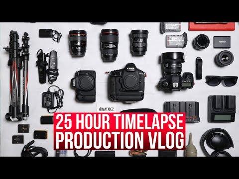 Sunrise to sunset - Timelapse production vlog