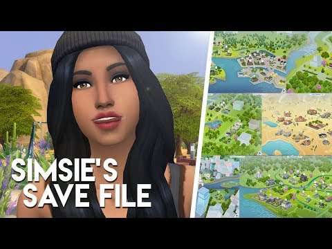 REMAKING EVERY SIMS 4 WORLD! (Downloadable Save File)