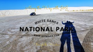White Sands National Park - Through The Window - Ride Through White Sands National Park With Us! 🏞