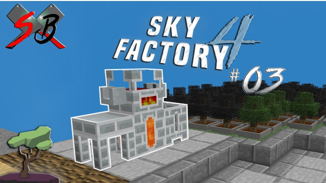Sky Factory 4- EP:3 -Tinker's Melter