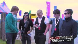 CHORDBLOSSOM // Mojo GoGo Interview @ Glasgowbury 2012