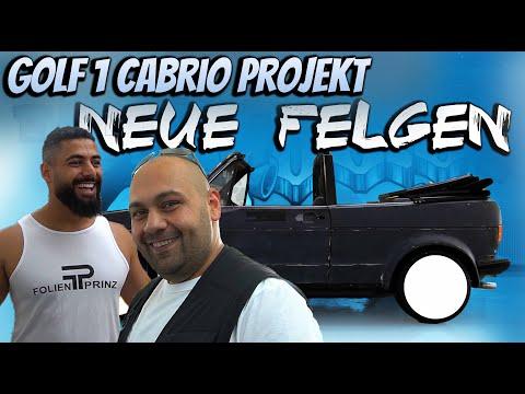 Golf 1 Cabrio Projekt - NEUE FELGEN!!!