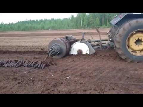 MTK-12 Extracting peat in Finland