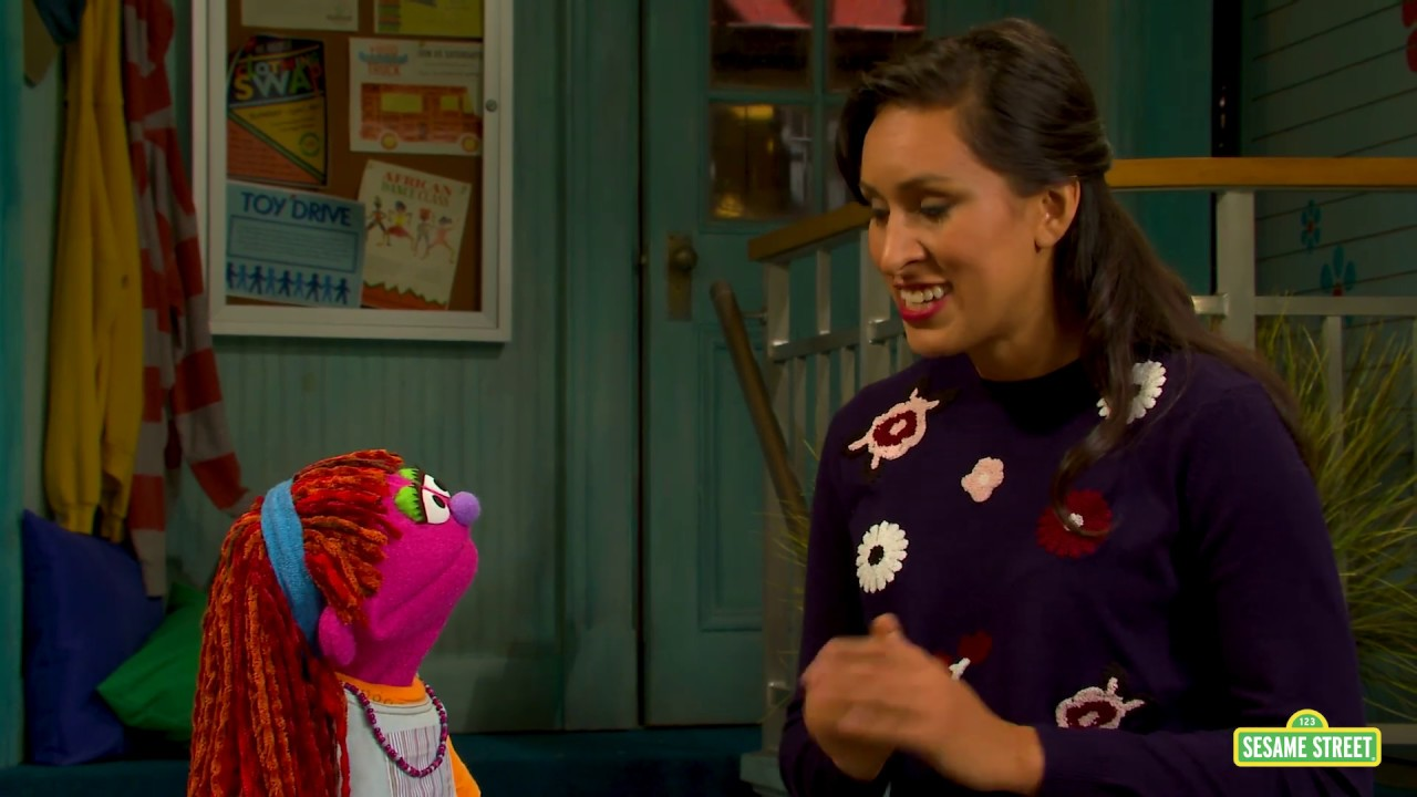Sesame Street' introduces Lily, the first Muppet to struggle