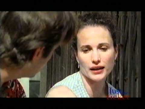 Andie MacDowell & Andy Garcia Interview (Just the Ticket 1999) Showbiz Weekly - Sky News